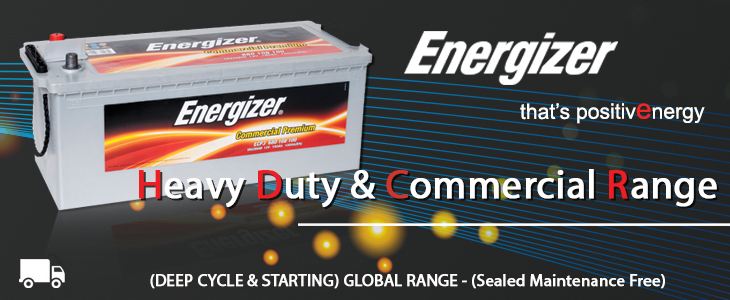Current Automation Energizer Heavy Duty Battery