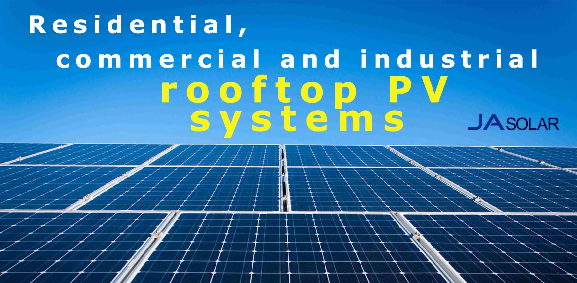Residential, commercial and industrial solar panels