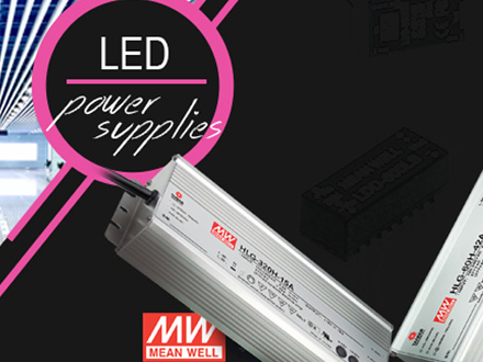 Meanwell LED Power supplies